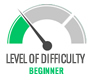 Level Of Difficulty-BEGINNER