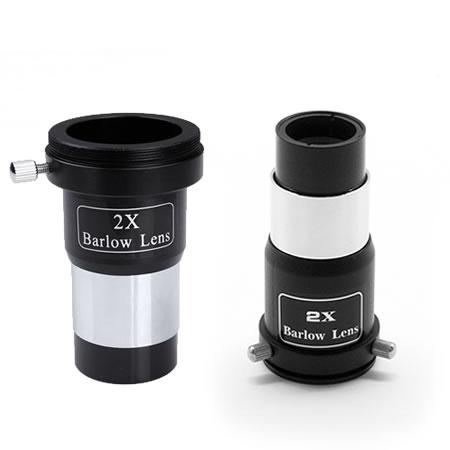 2x Barlow Lenses